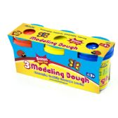 24 Units of 5 Oz. Multi Color Modeling Dough (3/Pack) - Clay & Play Dough