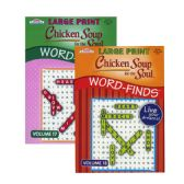 48 Units of KAPPA Large Print Chicken Soup For The Soul Word Finds Puzzle Book - Dictionary & Educational Books