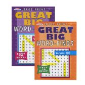 48 Units of KAPPA Large Print Great Big Word Finds Puzzle Book - Puzzle Books