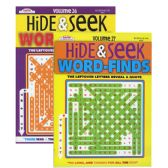 48 Units of KAPPA Hide & Seek Word Finds Puzzle Book - Puzzle Books