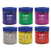 12 Units of 56.6g / 2 Oz. Primary Color Glitter Shaker