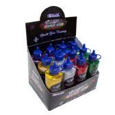 12 Units of 4 Oz. (120 mL) Classic Color Glitter Glue