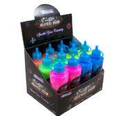 12 Units of 4 Oz. (120 mL) Neon Color Glitter Glue