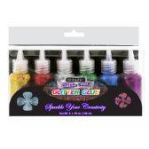 24 Units of 20 ml Classic Color Glitter Glue (6/pack)