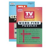 24 Units of KAPPA TV Guide Word Finds & Crossword Puzzles Book - Digest Size - Puzzle Books