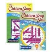 24 Units of KAPPA Chicken Soup For The Soul Word Finds Puzzle Book - Digest Size - Puzzle Books