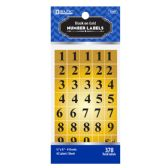 24 Units of Gold Foil Number Label (378/Pack) - Labels ,Cards and Index Cards
