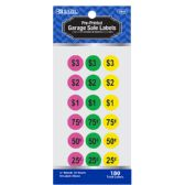 24 Units of Garage Sale Label (180/Pack) - Labels ,Cards and Index Cards