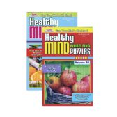 48 Units of KAPPA Healthy Minds Words Finds Puzzle Book - Digest Size - Dictionary & Educational Books