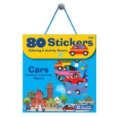 24 Units of Car Series Assorted Sticker (80/Bag) - Stickers