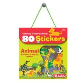 24 Units of Animal Series Assorted Sticker (80/Bag) - Stickers