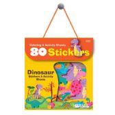24 Units of Dinosaur Series Assorted Sticker (80/Bag) - Stickers