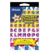 24 Units of Alphabet Sticker Book - Stickers