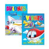 48 Units of AVIONES Libro Para Colorear Y Actividades - Coloring & Activity Books