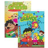 48 Units of Super Grande Colorear con Actividades - Coloring & Activity Books