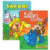 48 Units of Un Safari Divertido Colorear con Actividades - Coloring & Activity Books