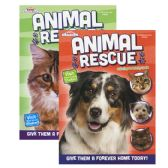 48 Units of KAPPA Animal Rescue Coloring & Activity Book - Coloring & Activity Books