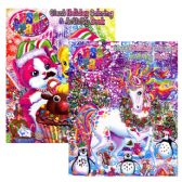 48 Units of LISA FRANK HOLIDAY Giant Coloring & Activity Book - Coloring & Activity Books