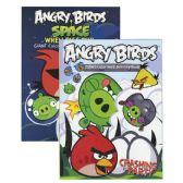 48 Units of ANGRY BIRDS Coloring & Activity Book - Coloring & Activity Books
