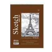 "48 Units of 30 Ct. 9"" X 12"" Top Bound Spiral Premium Sketch Pad - Notebooks"