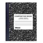 48 Units of W/R 100 Ct. Black Marble Composition Book - Notebooks