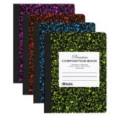 48 Units of W/R 100 Ct Premium Assorted Color Marble Composition Book - Notebooks