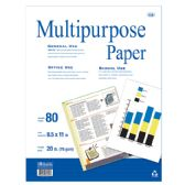 50 Units of 80 Ct. White Multipurpose Paper - PAPER