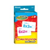 24 Units of Multiplication Flash Cards (36/Pack) - Card Games