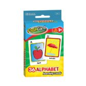 24 Units of Alphabet Preschool Flash Cards (36/Pack) - Coloring & Activity Books