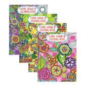 48 Units of Floral Coloring Book for Adults - Coloring & Activity Books