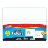 """24 Units of 9"""" X 12"""" Double Sided Dry Erase Lap Board - MEMO/NOTES/DRY ERASE"""