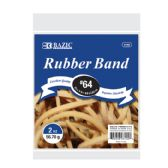 36 Units of 2 Oz./ 56.70 g #64 Rubber Bands