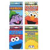 22 Units of SESAME STREET Flash Card - Coloring & Activity Books