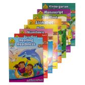 48 Units of SCHOOL ZONE Assorted Workbooks - Coloring & Activity Books