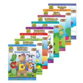 48 Units of SCHOOL ZONE Assorted Bilingual Workbooks - Coloring & Activity Books