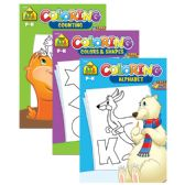 48 Units of SCHOOL ZONE Coloring & Activity Books - Coloring & Activity Books