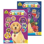 48 Units of SCHOOL ZONE Charlie & Company Coloring & Activity Books - Coloring & Activity Books