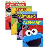 24 Units of SESAME STREET Workbooks - Coloring & Activity Books