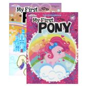 48 Units of MY FIRST PONY FOIL & EMBOSSED Coloring & Activity Book - Coloring & Activity Books