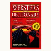 48 Units of WEBSTER Jumbo 320 Pg. English-English Dictionary - Dictionary & Educational Books