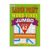 48 Units of KAPPA Jumbo Large Print Word Finds Puzzle Book - Puzzle Books