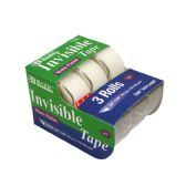 """24 Units of 3/4"""" X 500"""" Invisible Tape (3/Pack)"""