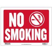 "24 Units of 9"" X 12"" No Smoking Sign"