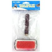 96 Units of DOUBLE SIDED DOG GROOMING BRUSH - PET GROOMING ITEMS