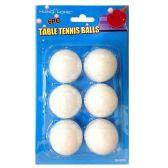 72 Units of 6 PACK PING PONG BALLS - Balls