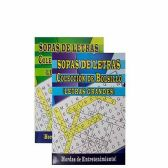 48 Units of SPANISH WORD SEARCH BOOKS DIGEST SIZE - Puzzle Books