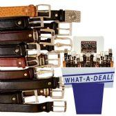 48 Units of BUSINESS BELTS ASSORTED 48 PC BUSINESS REFILL ASSORTMENT - Mens Belts