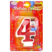 144 Units of BIRTHDAY CAKE CANDLE NO. 4
