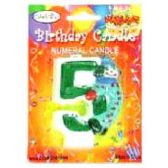 144 Units of B-DAY CAKE CANDLE CLOWN #5