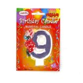 144 Units of B-DAY CAKE CANDLE CLOWN #9